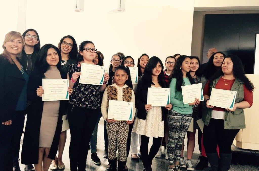"""""""Niñas en la Ciencia"""" Program Concludes Successfully"""