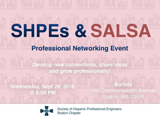 SHPEs and Salsa September Edition