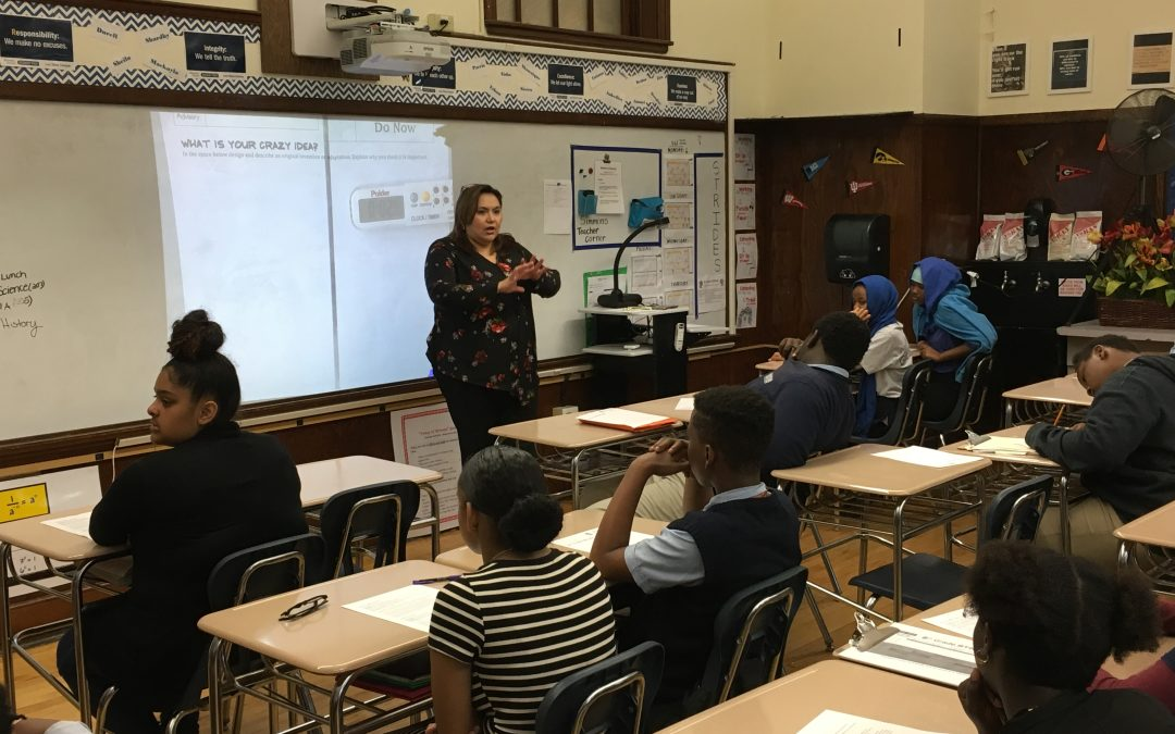 SHPE Boston Engineers Return to Roxbury Prep School
