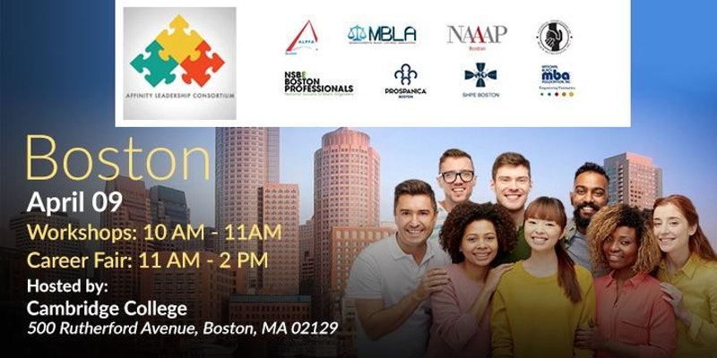 Boston Affinity Leadership Consortium Professional and Technology Career Fair