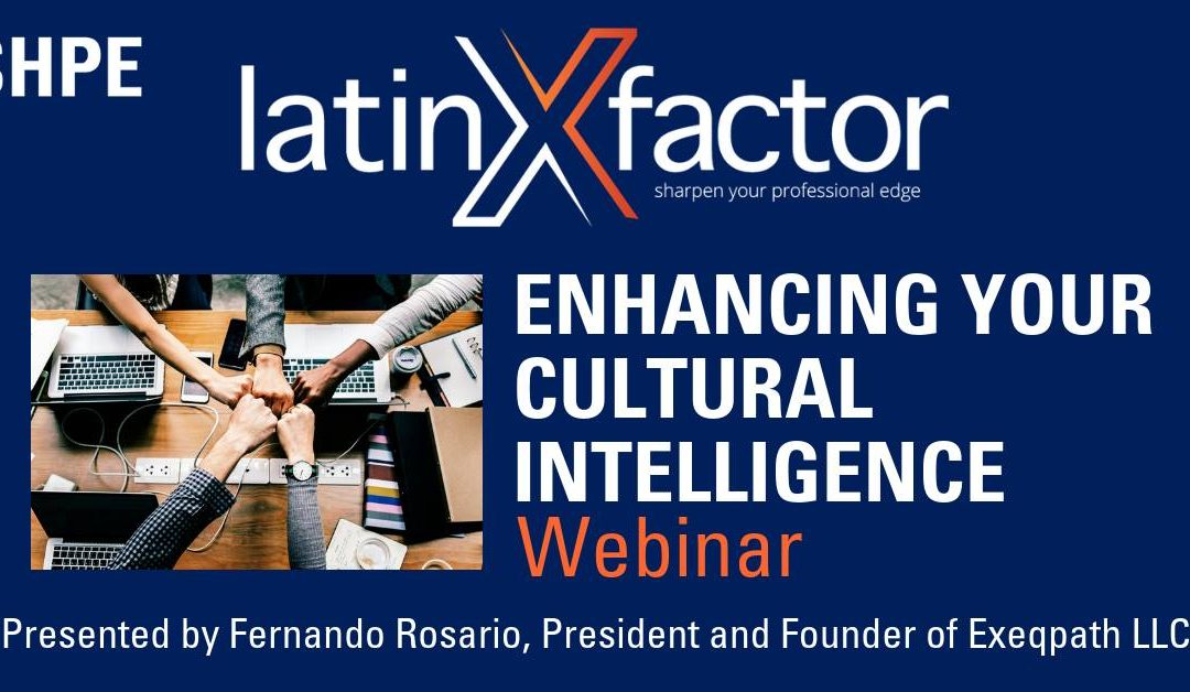 Webinar: Enhance Your Cultural Intelligence