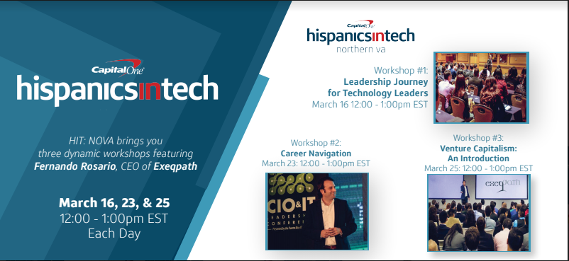 Capital One HIT – Exeqpath Events in March